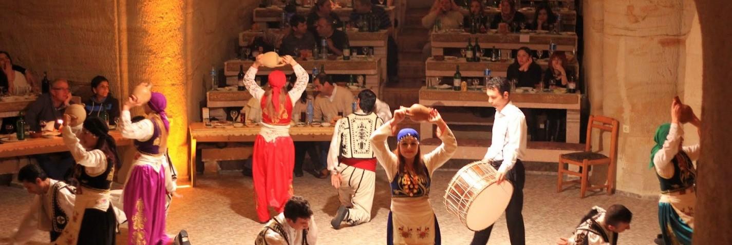 Turkish Night Show at Cave Restaurant